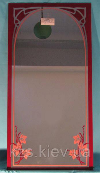 Зеркало с декоративным украшением арт.02.8.16