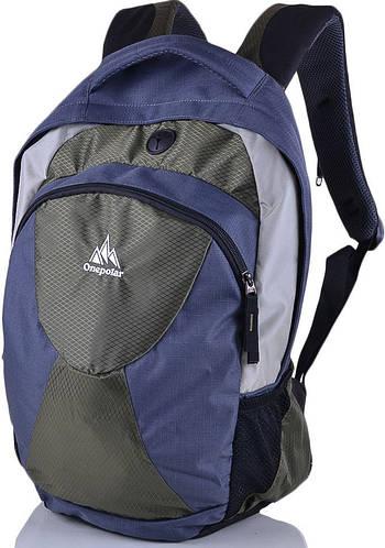 Молодежный городской рюкзак  22 л. Onepolar W1287-green, зеленый