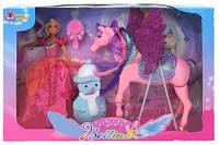 Кукла с лошадью и аксессуарами 66601