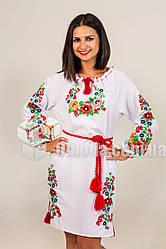 Вышитое платье Диана