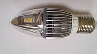Сверхяркая Светодиодная лампа Е27 6W 360 градусов