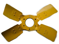 Вентилятор 240-1308040А 4 лопасти метал