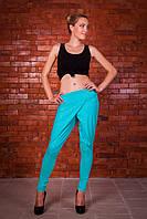 Модные женские брюки Bono мята mod 4