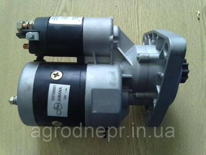 Стартер 123708102 с редуктором на трактор ЮМЗ 12В 2,8 кВт
