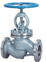 Клапан запорный стальной фланцевый 15с18нж (15с18п)