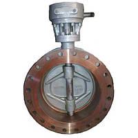Затвор дисковый стальной поворотный фланцевый 32с310п1