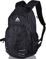 Рюкзак на каждый день 22 л. Onepolar (Ванполар) W1570-black черный