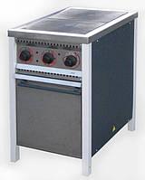 Плита промышленная электрическая с духовкой Арм-Эко ПЕ-2Ш Ч Економ