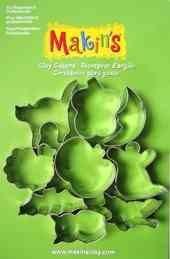Makin's Набор каттеров из 9 шт. Хеллуин А