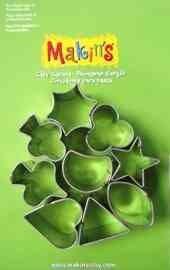 Makin's Набор каттеров из 9 шт. Геометрические фигуры