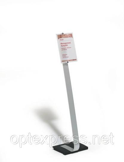 CRYSTAL SIGN stand A4 Напольная информационная табличка DURABLE