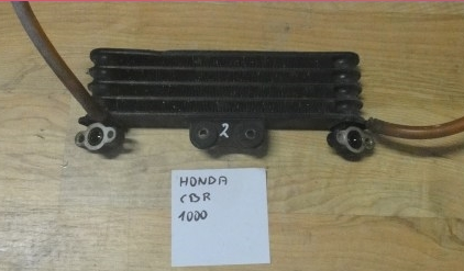 Радиатор масляный двойной Honda CBR1000F