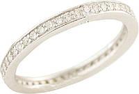 Серебряное кольцо SilverBreeze Серебряное кольцо SilverBreeze с фианитами (1212615) 17 размер SKU_1212615-17