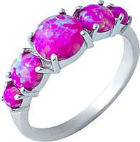Серебряное кольцо SilverBreeze Серебряное кольцо SilverBreeze с опалом (1921562) 16.5 размер SKU_1921562-16.5