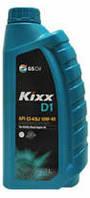 Масло моторное полусинтетика Kixx(кикс)D1 10W-40 1л.