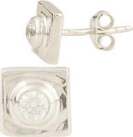 Серебряные серьги SilverBreeze Серебряные серьги SilverBreeze с фианитами (0949918) SKU_0949918