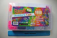 Набор для плетения браслетов  с оригинальным разборным станком, фото 1