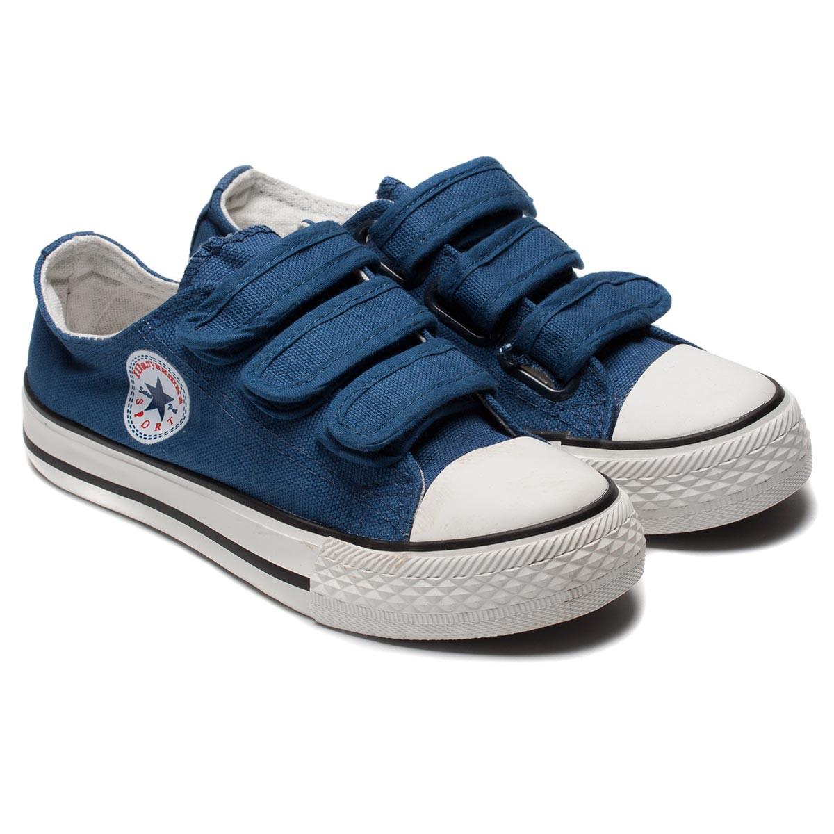 Синие кеды Шалунишка на мальчика, размер 31-36