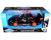 Машина Welly  PORSCHE 911(997) GT3 RS  металлическая (22495W)