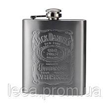 🔝 Металлическая фляга для алкоголя, Jack Daniels, (Джек Дэниэлс), 0.2 л.,