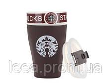 🔝 Герметичная стильная термокружка / стакан Старбакс (Starbucks) для горячего кофе и чая | 🎁%🚚