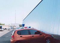 Ангар   ( фр.hangar )  ----  специальное  помещение  для  стоянки  и  обслуживания  самолетов  или  любой  кру