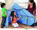 🔝 Строительный конструктор для детей, Форт, большой детский конструктор, 77 деталей, фото 3
