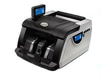 🔝 Счетчик банкнот с УФ и магнитным детектором + выносной экран, UKS 6200, счетная машинка для денег   🎁%🚚