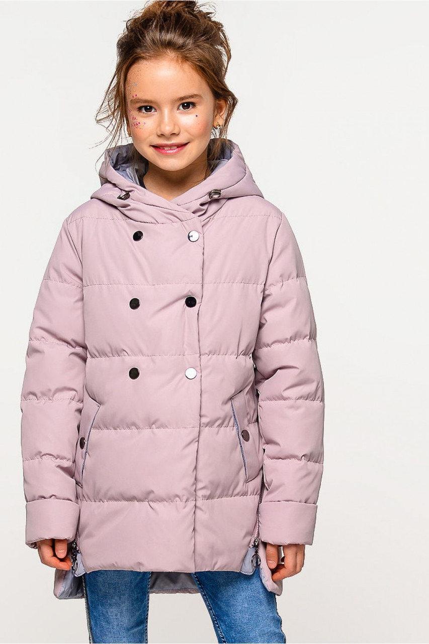Осенняя куртка детская для девочки короткая