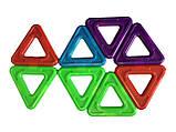 🔝 Детский магнитный конструктор, Mag-Puzzle, развивающий, 14 деталей   🎁%🚚, фото 2