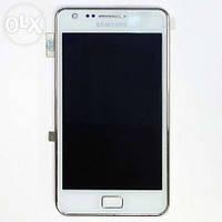 Samsung Galaxy 2 i9100 white тачскрин, сенсорная панель, cенсорное стекло