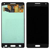 Samsung Galaxy A5 A500 black LCD, модуль, дисплей с сенсорным экраном