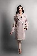 Теплое женское пальто из шерсти на подкладке, фото 1
