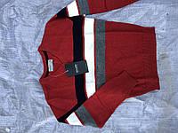 Модные тонкие свитера для мальчиков Glo-story,100% хлопок,разм 110-160 см, фото 1