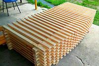 Деревянный заборчик декор 2х70см