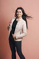 Молодежная стеганная женская куртка, фото 1
