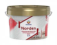 Эмаль акриловая ESKARO NORDEN 30 универсальная (полуглянцевый) 2,7 л