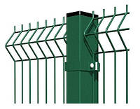 Столб Оцинкованный в Полимере (для забора) 60х40мм х1,5м