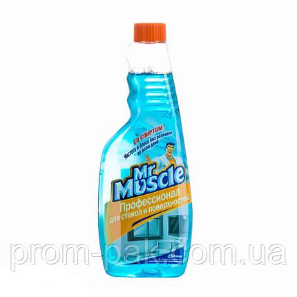Mr.Muscle профессионал для  мытья окон и стеклянных поверхностей (запаска), фото 2
