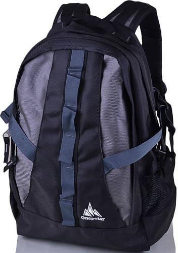Мужской городской рюкзак 25 л. Onepolar W921-grey серый