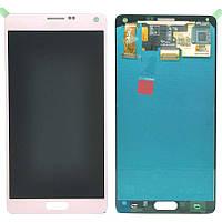 Samsung Galaxy note 4 N9100 white  LCD, модуль, дисплей с сенсорным экраном