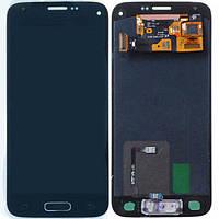 Samsung Galaxy S5 mini G800F dark blue  LCD, модуль, дисплей с сенсорным экраном