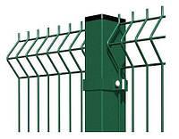 Столб Оцинкованный в Полимере (для забора) 60х40мм х 2м