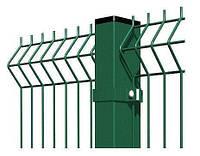 Столб Оцинкованный в Полимере (для забора) 60х40мм х 2.5м