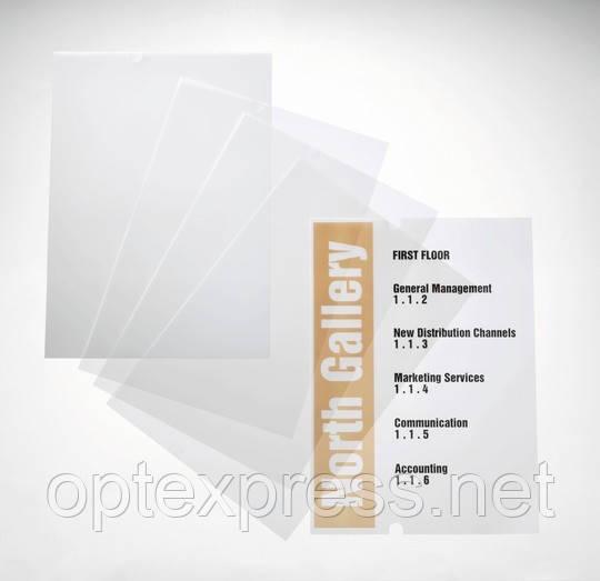 PC-друкується вставка А4 для стенду Crystal Sign 10шт./уп. DURABLE