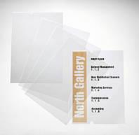 PC-печатаемая вставка А4 для стенда Crystal Sign 10шт./уп. DURABLE