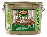 Масло атмосферостойкое AURA TERRACE для древесины 9 л