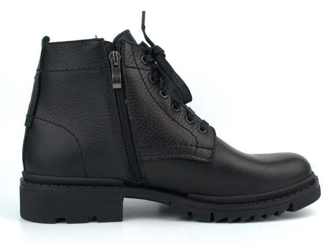 Зимові черевики ручної роботи індивідуальна пошито взуття для чоловіків з натуральної шкіри Hand Made by Rosso