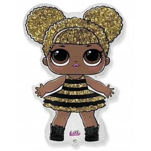 """Фольгированный Шар Кукла LOL QUEEN BEE 32""""(81 см), Фигура Большая"""