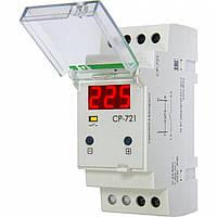 Реле напряжения CP-721 220В 30А 2S 1-фазное F&F